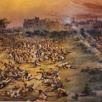 Amristar MAssacre Army soldiers under the command of Brigadier-General Reginald Dyer opened fire on an unarmed gathering of men, women and children. The firing lasted for 10 to 15 minutes, until they ran out of ammunition.[1] Official British Raj sources  timeline