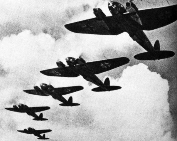 Nazi Germany is defeated in the Air War.