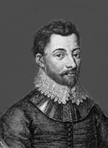Francis Drake leaves England to Find the Northwest Passage.