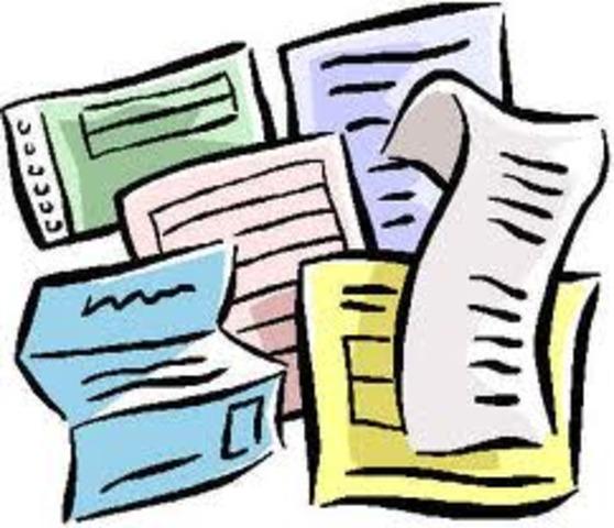 Creación del papel