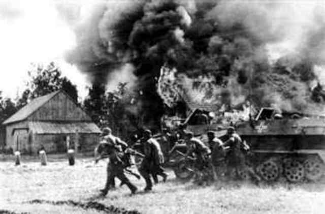 Nazi Germany invades the Soviet Union