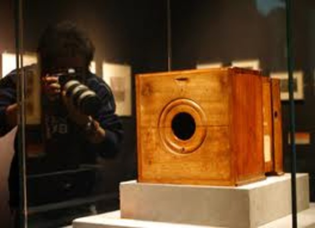 The first camera was invented