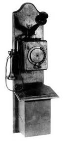 The first automatic dial telephone was patent