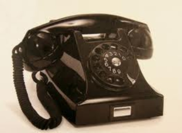 The first pushbotton telephone was invented