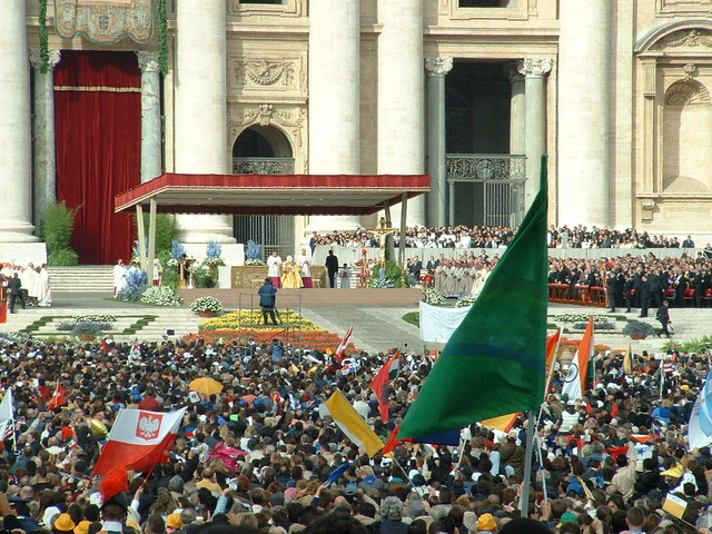 Beatified the first person of his papacy