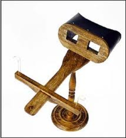 Oliver Wendell Holmes invents stereoscope viewer