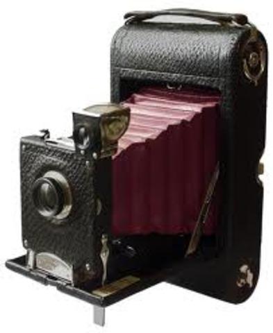 Eastman patents Kodak roll-film camera