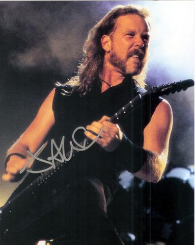 nace James Hetfield