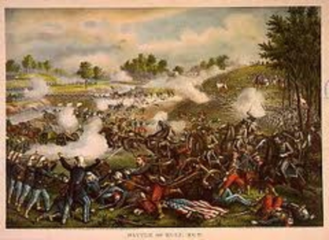 First Battle of Bull Run.