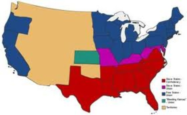 Four Slave States Stay in the Union