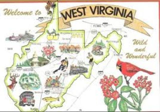 West Virginia Is Born