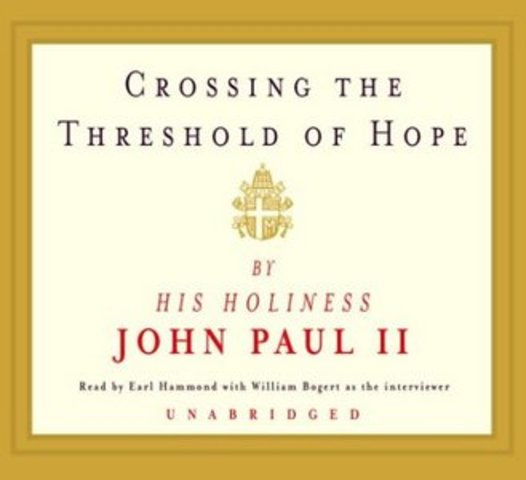 """Publishes the book, """"Crossing the Threshold of Hope"""