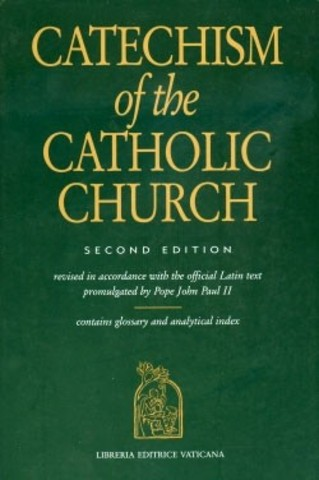 Issues the Roman Catholic Church's new Universal Catechism