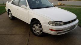 mom gets her first car when shes 18. 1994 toyota camry timeline