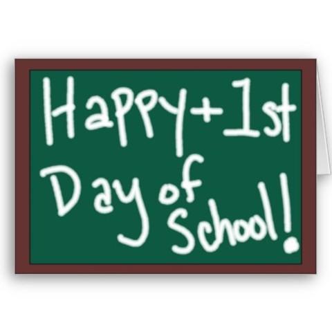 started school!!