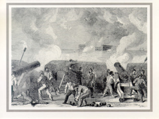 Union Surrenders at Fort Sumter