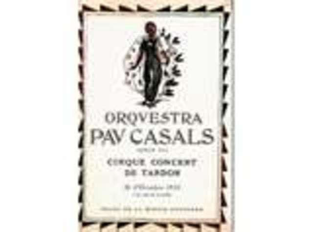 Primer concert de l'Orquestra Pau Casals