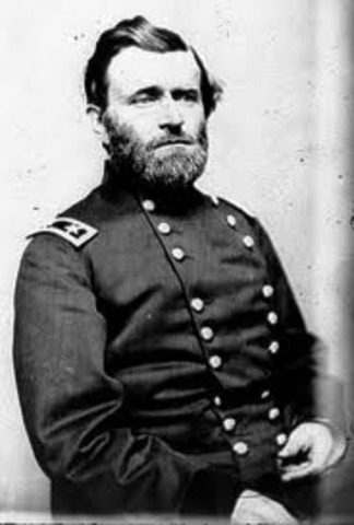 Ulysses S. Grant takes over the Union Army