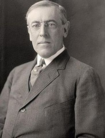 Woodrow Wilson, President of the Priceton University
