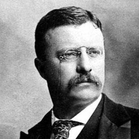 Theodore Roosevelt, 26th President of U.S