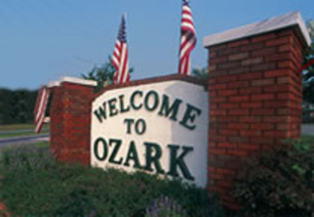 I head down to Ozark, Alabama