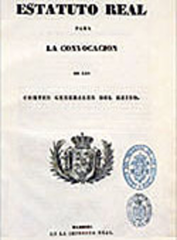 Estatuto Real 1834