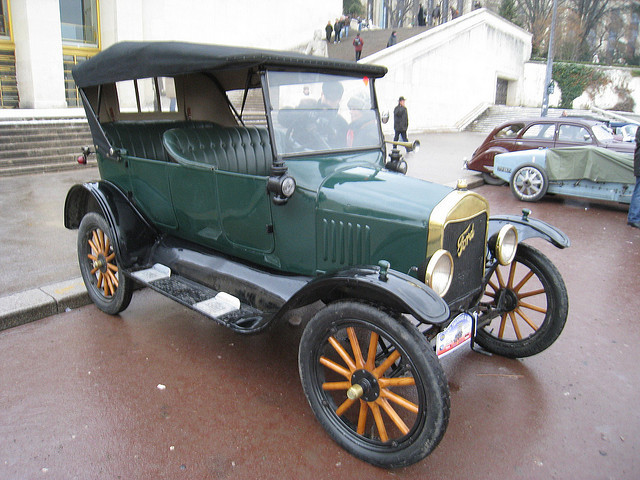 Ford`s 1908 `tin lizzie`