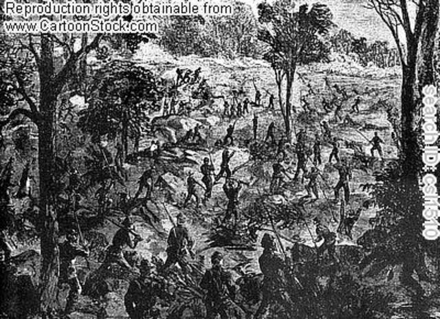 Battle at Chattanooga