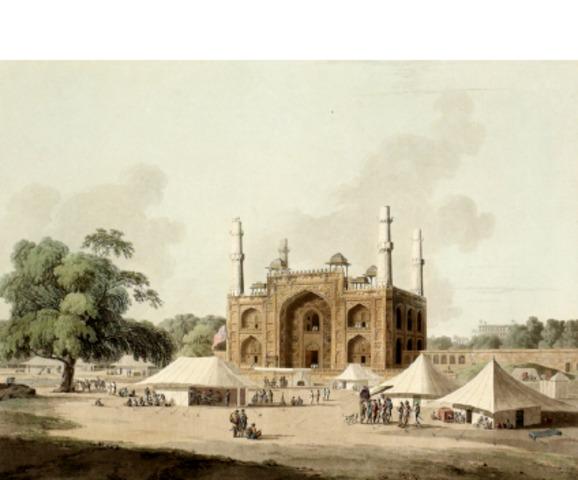 Akbar died