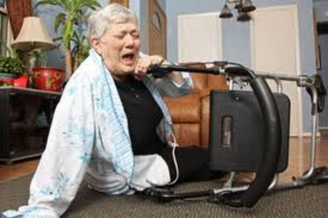 Billy's mother is addmited to nursing home
