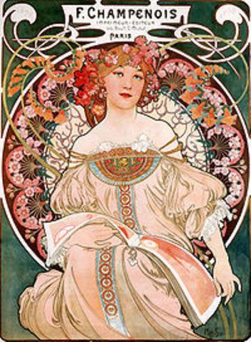 Art Nouveau (1890-1910 AD)