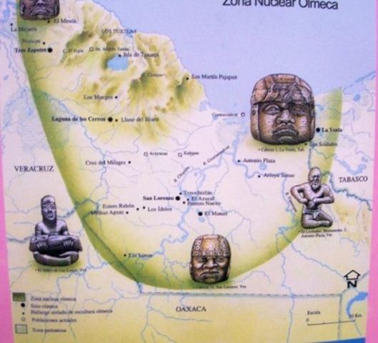 Extinción de los Olmecas