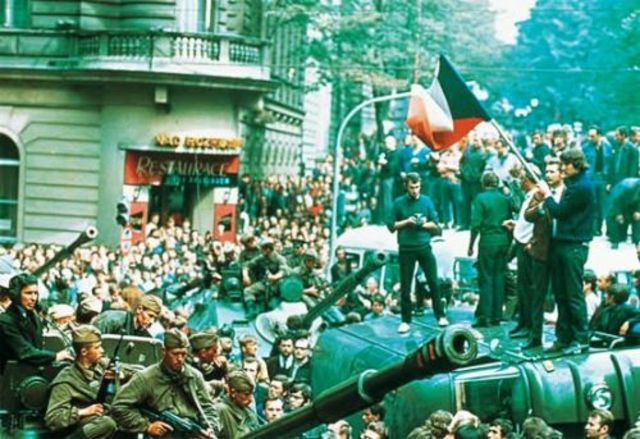 Primavera de Praga (Europa - Tchecoslováquia)