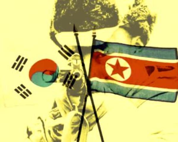 Guerra da Coréia (Ásia - Fronteira entre as Coréias)