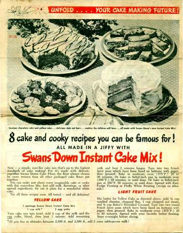 About When Boxed Cake Mix And When It Was Invented