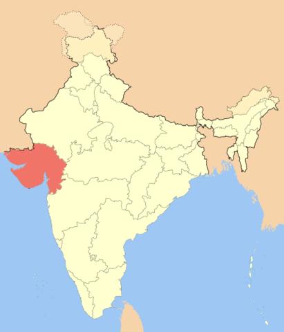 Akbar annexed Gujrat