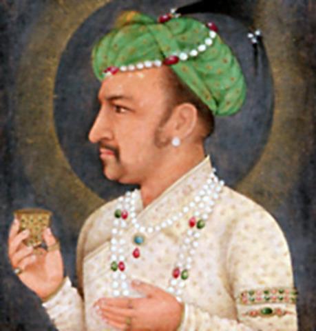 Akbar's son Jahangir born
