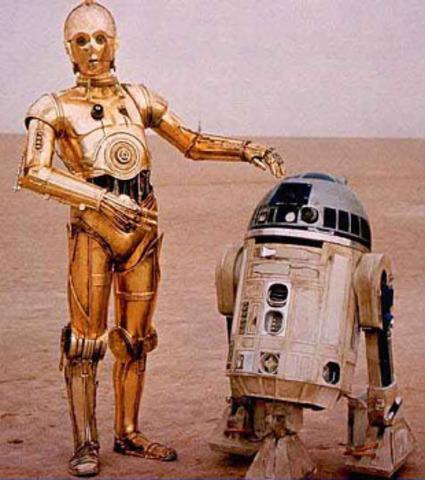 ROBOTS EN PELICULAS...SON  FAMOSOS!!