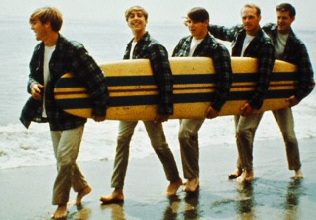 "The Beach Boys release ""Pet Sounds"""