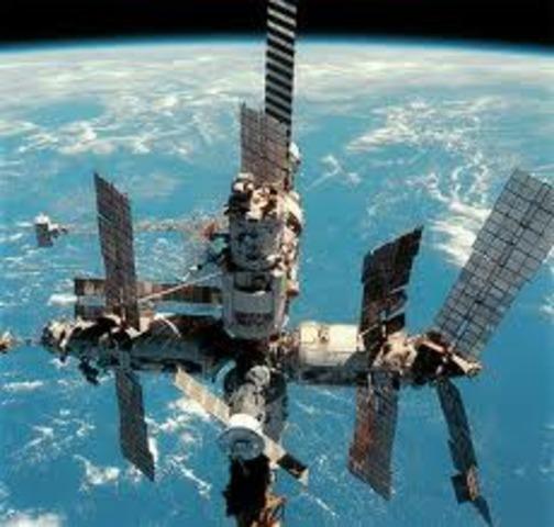 Soviet space station Mir