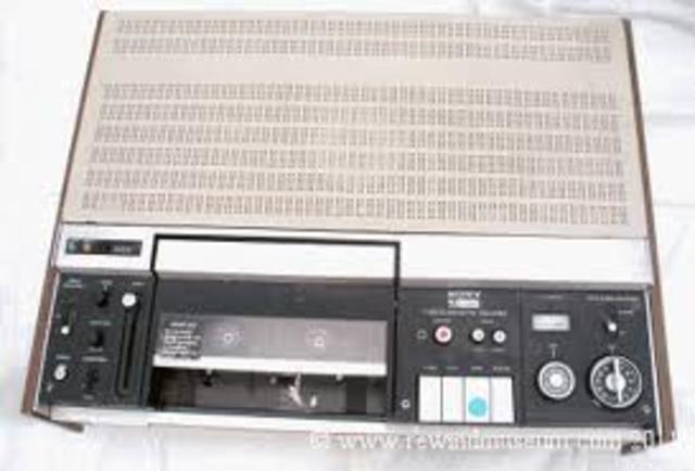 Sony VO 1600 (VCR)