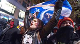 Quebec Tuition Protests 2012 timeline