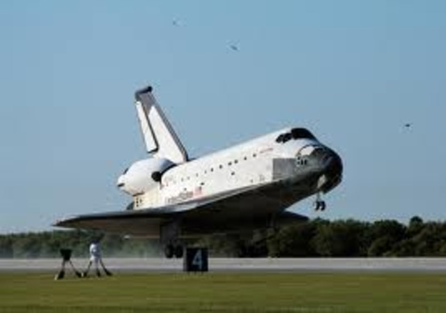 The space shuttle Columbia's fifth mission