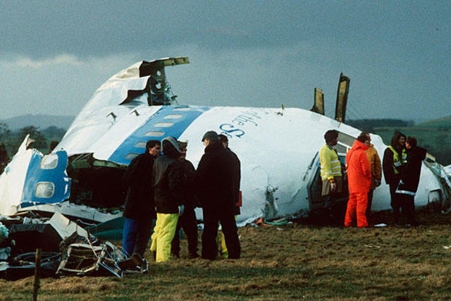 Pan Am Flight 103 Is Bombed Over Lockerbie