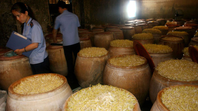 Toxic bean sprouts in Shenyang