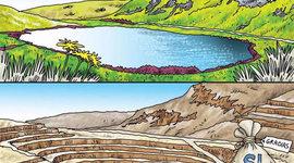 Minería y Agua: Recuento de casos. (Sep 2011 - Mayo 2012) timeline