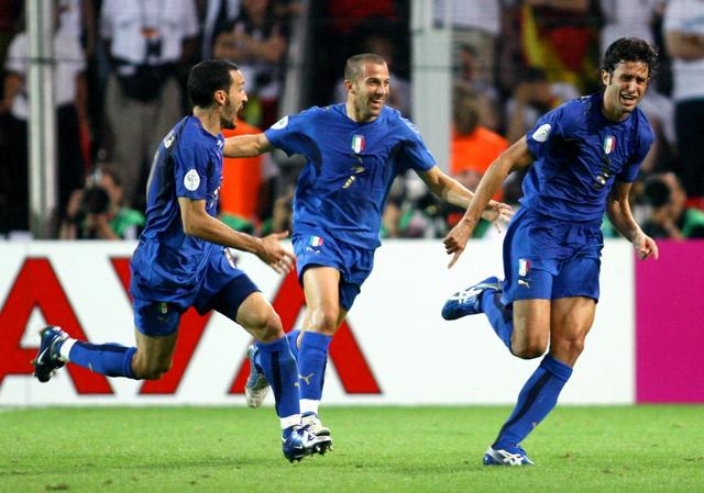 Il gol alla Germania
