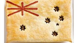 Australia's major food influences. timeline