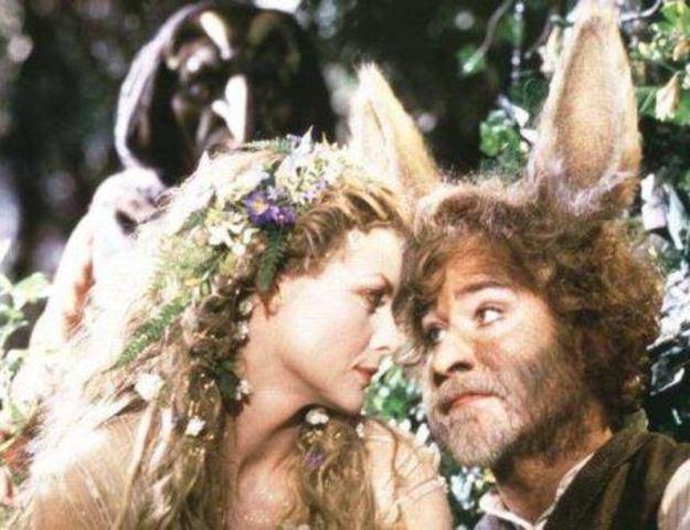 Titania's strange lover.