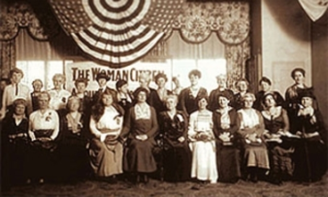 suffrage association is formed